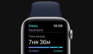 ساعت مچی هوشمند اپل واچ 6 44 میلیمتر آلومینیومی با بند لاستیکی